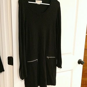 Michael Kors zipper sweater dress Large